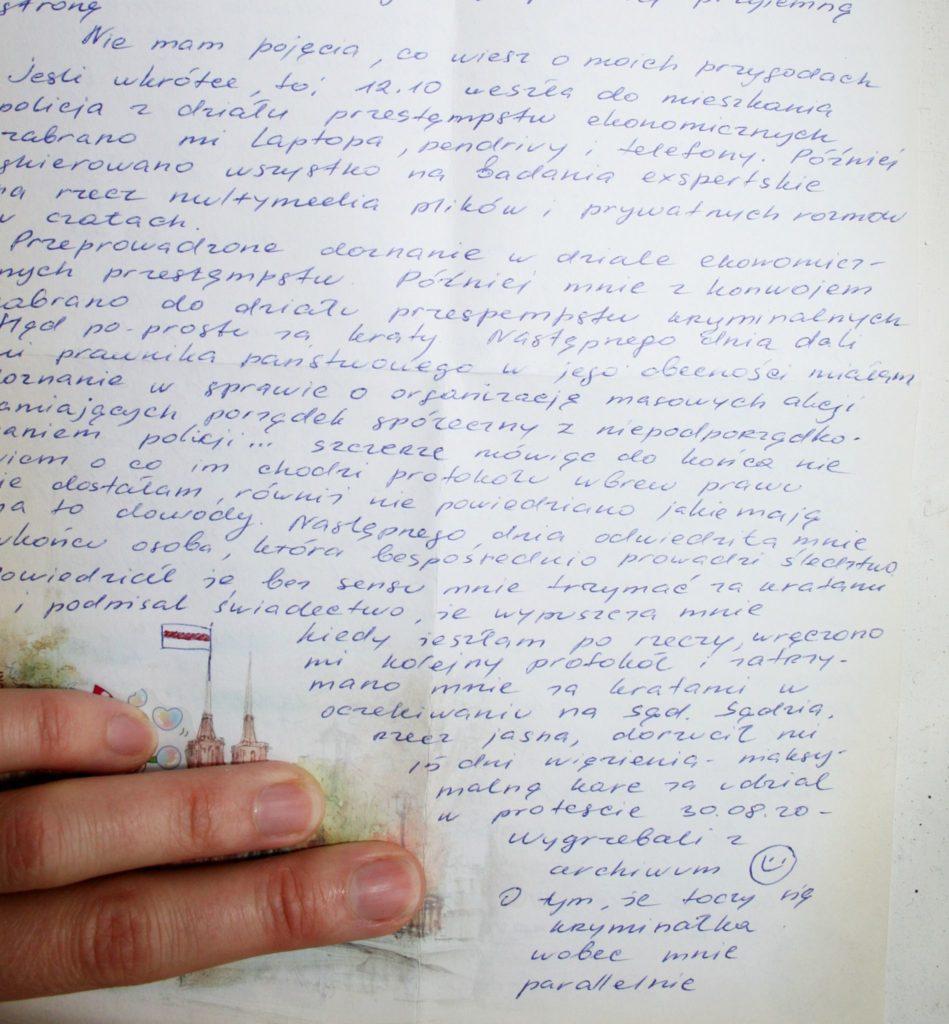 list marysia 1 Kolorowe Ptaki.com