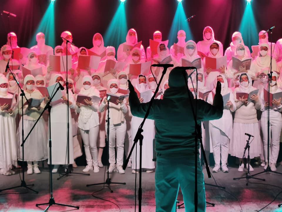 białoruski wolny chór Вольны хор