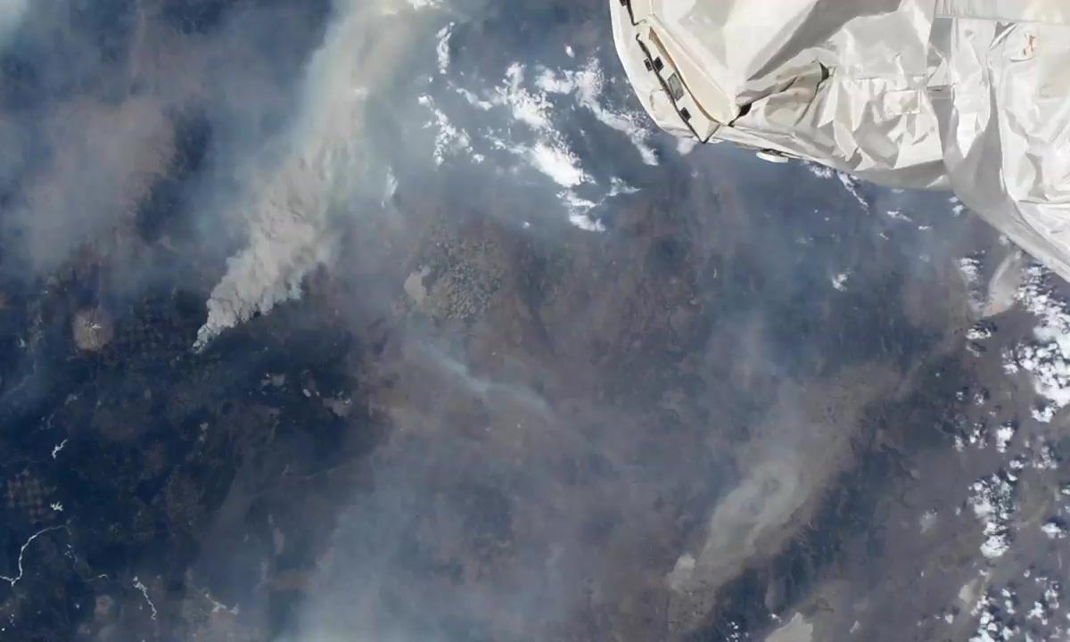 Zdjecia wykonane kamerami umieszczonymi na Miedzynarodowej Stacji Kosmicznej ISS Tracker